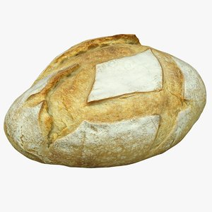 scan loaf bread 3D model