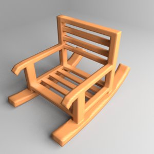 rocking chair 4 model