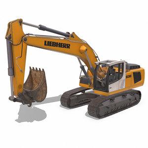 excavator liebherr model