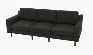 3D modern sofa modular