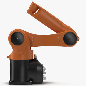 generic industrial robot arm 3D model