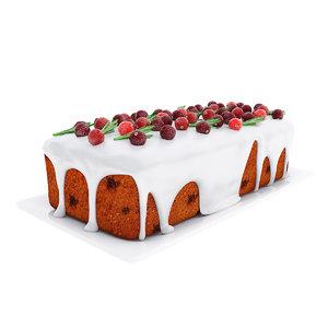 cranberry loaf cake model