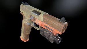 fn five-seven handgun gun games 3D