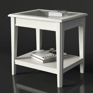 3D ikea liatorp table