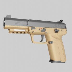 3D model fn five-seven