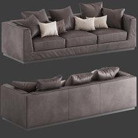 Flou Gentelman 3-seater Sofa