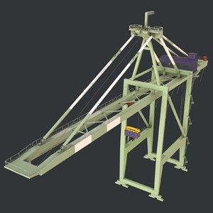- cargo container 3D model