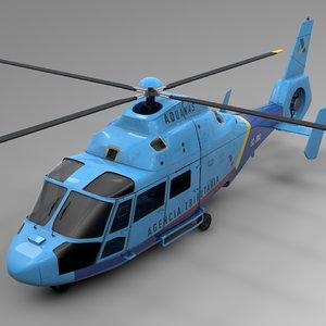 3D spain aduanas airbus dauphin