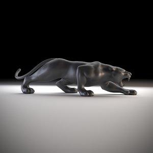 sculpt puma printing 3D model