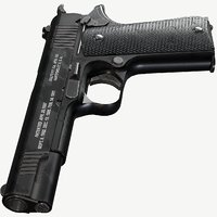 Colt 1911 Tactical (Triple A) PBR Game Ready