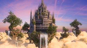 3D sky palace hd model