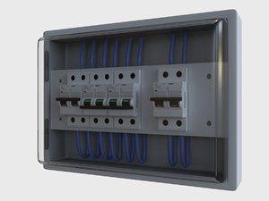 box fuse - circuit 3D