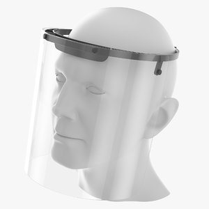 3D medical face shield