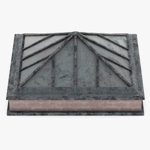 3D roof rooftop model