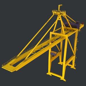 3D model - cargo container