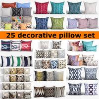 25 Decorative set pillow