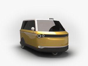 future rickshaw alternative 3D model