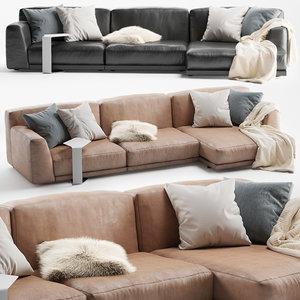 paris seoul sofa 3D model