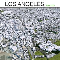 Los Angeles City in California