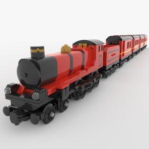 3D lego hogwarts express