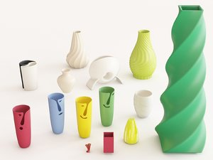 3D vase vol 05