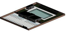 3D swimming pool project