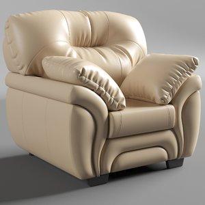 3D bristol armchair