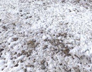 Snow terrain PBR pack 9