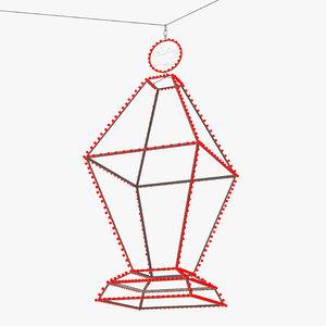 fanoos wire lights 3D model