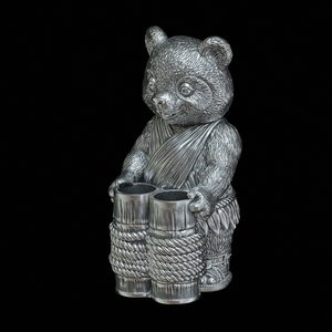 panda toothpick holder 3D model
