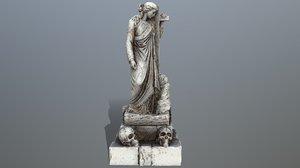 3D model statue 5
