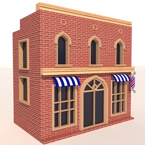 3D store architecture model