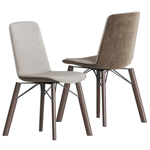 3D 616 dining chair rolf benz model