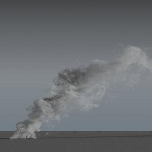 smoke 04 3D model