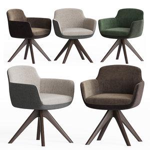 3D danae dining chair papadatos