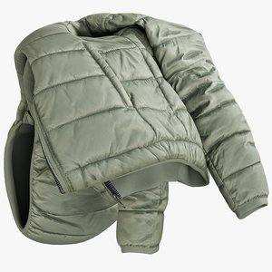 realistic women s jacket 3D