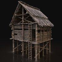 NEXT GEN AAA Forest Wooden Watchtower House Scouttower Log Cabin