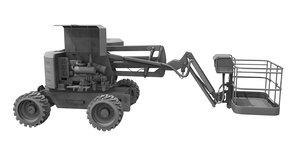 3D boom lift iiside model