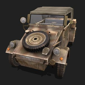 3D german vehicle model