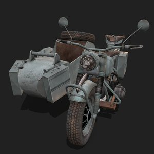 ks 750 3D model