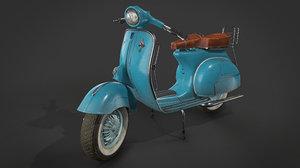 vespa vintage scooter 3D model