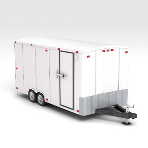 trailer box 3D