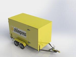 docomocad3d trailers model