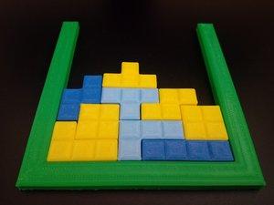 3D tetris tetraminos
