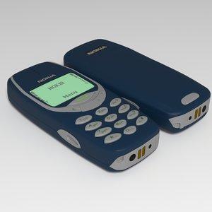 3D nokia 3310