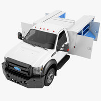 Ford F450 2012 Enclosed Utility Truck 05