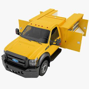 3D f450 2012 enclosed model