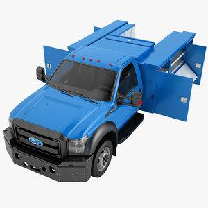 3D model f450 2012 enclosed