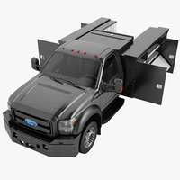 Ford F450 2012 Enclosed Utility Truck 08