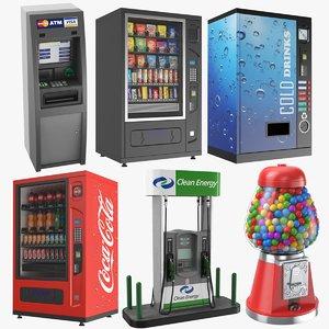 3D model vending machines
